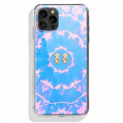 TINKALINK iPhone 12 Pro case Talisman Byron Bay Pastel Skin charm gold boys