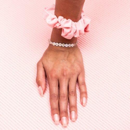 TINKALINK Crystal Healing Bracelet Clear Quartz Warrior