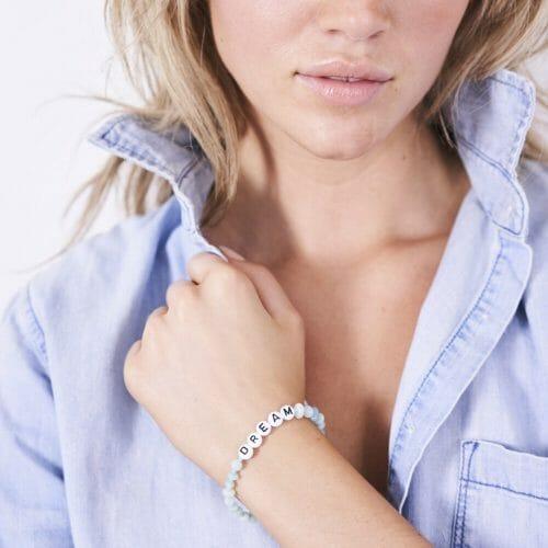 TINKALINK Crystal Healing Bracelet Amazonite Dream