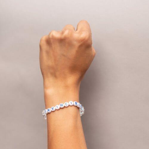 TINKALINK Crystal Healing Bracelet Clear Quartz Invincible