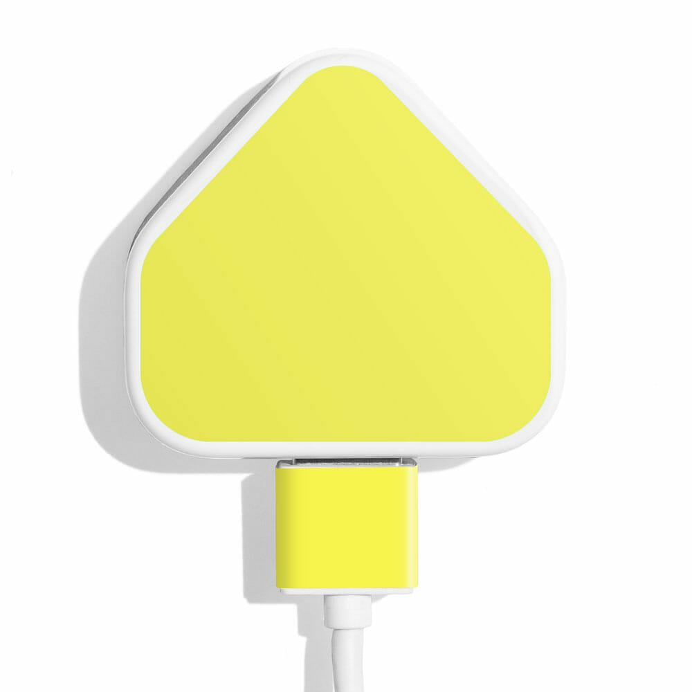 TINKALINK Charger Skin Neon Yellow Vinyl