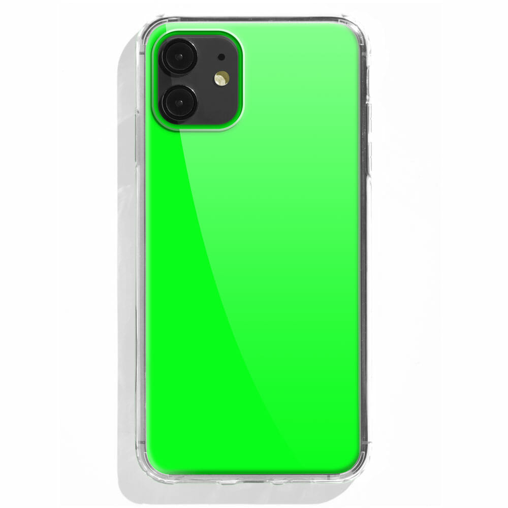 TINKALINK iPhone 11 Case Talisman Neon Green Skin