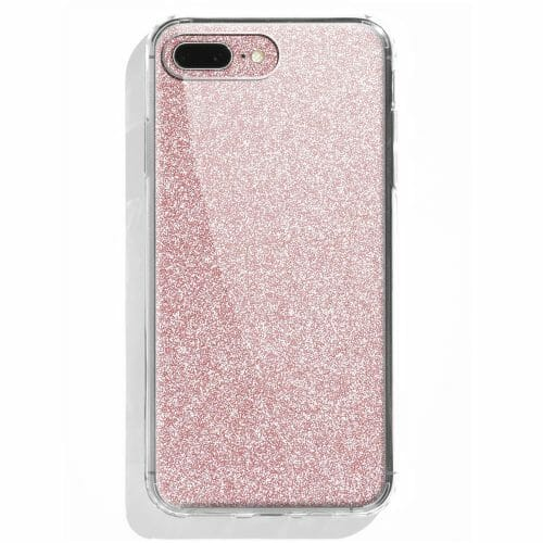 TINKALINK iPhone 7/8 Plus Case Talisman Rose Gold Glitter Skin