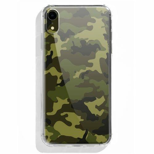 TINKALINK iPhone XR Case Talisman Green Camo Skin