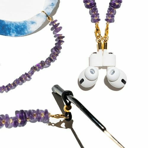 TINKALINK Crystal Healing Glasses Chain 3-in-1 Amethyst