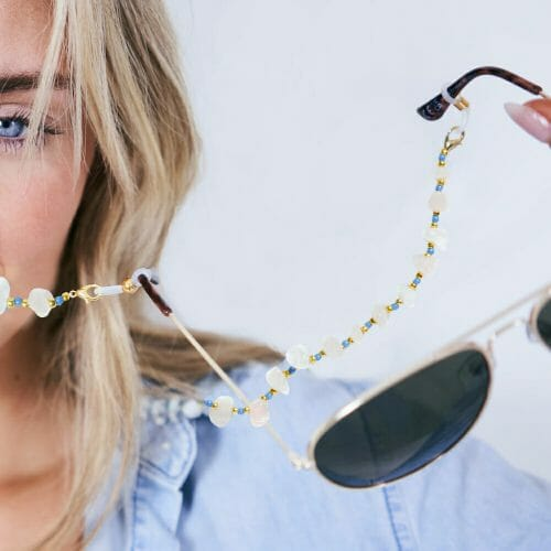 TINKALINK Crystal Healing Glasses Chain 3-in-1